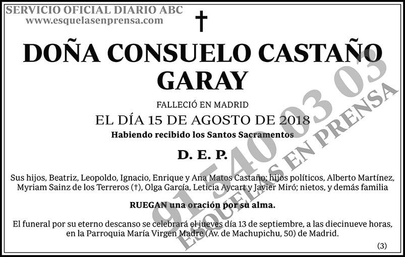 Consuelo Castaño Garay